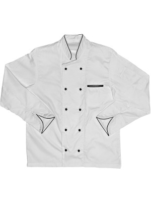 Javlin 100% Cotton Executive long sleeve Chef Jacket