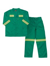 PARAMOUNT POLYCOTTON REFLECTIVE CONTI SUITS