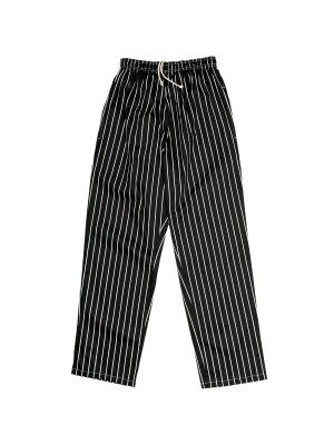 PRINTED BAGGY CHEF PANTS