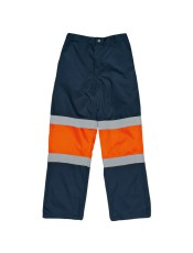 TWO TONE HI-VIS REFLECTIVE CONTI TROUSERS