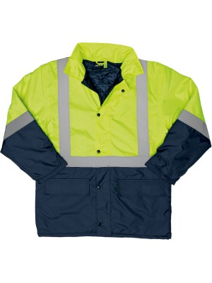 TWO TONE HI-VIS JACKET