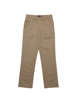 MEN'S FLAT FRONT CHINO