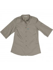 3/4 SLEEVE SAFARI SHIRT
