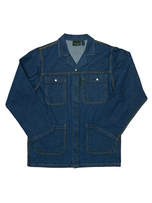 JAVLIN BLUE INDIGO HEAVY DUTY DENIM CONTI JACKET
