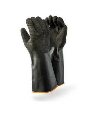 DROMEX CRINKLED INDUSTRIAL RUBBER GLOVE