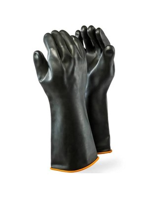 DROMEX SMOOTH INDUSTRIAL RUBBER GLOVES