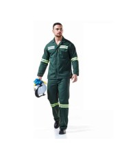 DROMEX POLY VISCOSE ACID CONTI SUIT REFLECTIVE