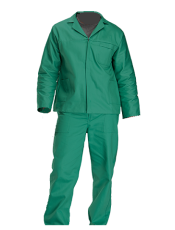 Continental Flame Retardant 2Piece Overall – Fern Green D59