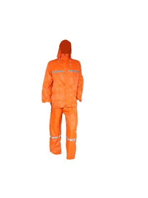 2 piece Rainsuits with Reflective Tape s-5XL