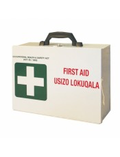 FIRST AID METAL WALL BOX