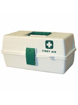 FIRST AID PLASTIC BOX