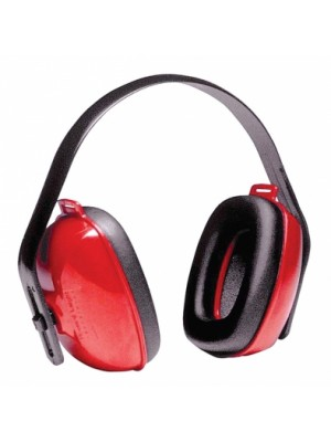 QM24+ HEADBAND EARMUFF RED